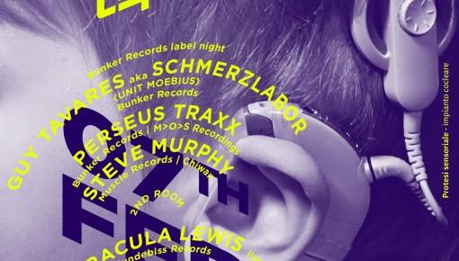 FEB 07 CRISPY w/ BUNKER RECORDS LABEL NIGHT, DRACULA LEWIS & more