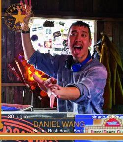 Daniel Wang ∞ Domenica 30.07.2017 #partyhardy Disco Dancing Chalet Paola Perarock Festival